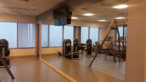 Wykonanie siłowni dla Franklin Templeton w Andersia Tower w Poznaniu